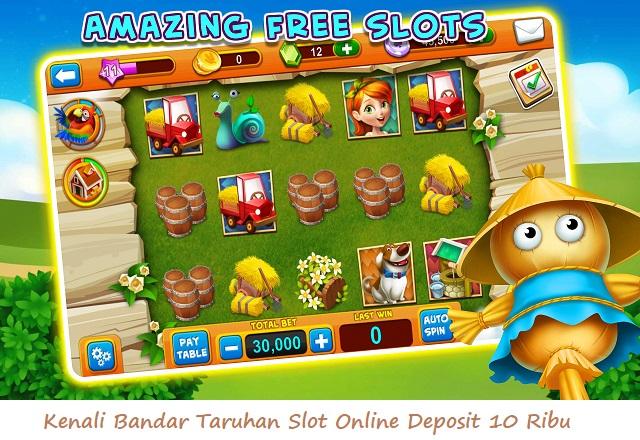Kenali Bandar Taruhan Slot Online Deposit 10 Ribu